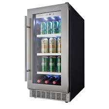 under cabinet beverage refrigerator danby single zone 15 in 66 can built in beverage center