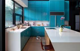 Turquoise Kitchen Cabinets - Turquoise kitchen cabinets