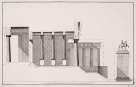 greek temple floor plan le roy julien david les ruines des plus beaux monuments de la