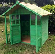 Summer Garden Sheds - summer garden buildings wooden childrens playhouse painted