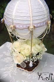 hot air balloon centerpiece hot air balloon wedding table number centerpiece hot idealpin
