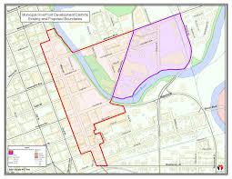 New York City Council District Map by Riverfront Development District Elkhart In