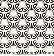 japanese pattern black and white japanese seamless pattern stylish texture ornate stock vector
