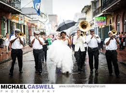 second line wedding kinfolk brass band wedding second line parade in quarter