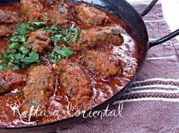 cuisiner les aubergines facile kefta aux aubergines à l le de recette de ratiba