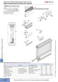 Sliding Glass Cabinet Doors Sliding Door For Cabinets Elegant Home Design