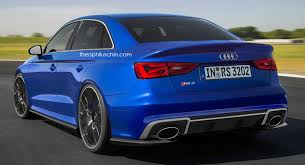 audi rs 3 audi rs3 sedan to enter production with 400hp