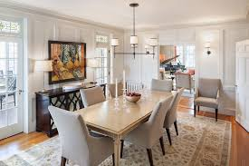 Dining Room Chandeliers Transitional Home Accessories Buffet Ls And Baby Grand Piano In Inspiring