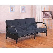 allegra pillow top futon black walmart com cool sofa bed