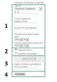 descargar el certificado de pensiones y cesantas ing aportes en línea consultar el certificado de aportes al sistema de