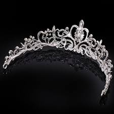 silver headband wedding bridal princess austrian hairband prom hair tiara