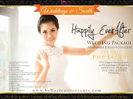 wedding planner packages wedding packages philippines creative events affordable