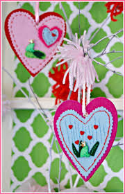 felt ornaments diy felt ornaments for s day 3 greenwoods