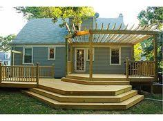 Multi Level Backyard Ideas When You Are Planning To Build A Deck The Cost Of The Deck Will