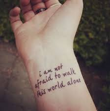 best 25 tattoo quotes for girls ideas on pinterest tattoo
