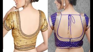 net blouse pattern 2015 back neck blouse designs different pattern youtube