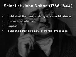 Was John Dalton Color Blind Romanticism And Realism By Fordm