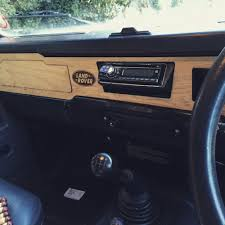 land rover wooden land rover defender 90 and 110 wooden dash insert ebay