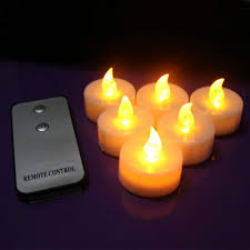 small tea light candles 100pcs led candle with remote control flameless candle yellow