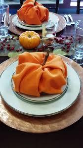 pumpkin napkin fold search napkin folds