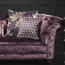 rich velvet furniture sets plush pattern sectional sofa and