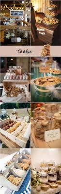 wedding cookie table ideas wedding catering trends top 8 wedding dessert bar ideas dessert