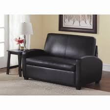 Black Sleeper Sofa Dorel Living Mainstays Sofa Sleeper Black