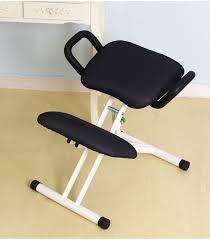 chaise ergonomique bureau ergonomique genoux chaise avec poignée hauteur ajuster bureau genou