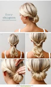 Hochsteckfrisuren Einfach Halblanges Haar by Oben Frisuren Für Lange Haare Leicht Deltaclic