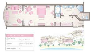 West Wing Floor Plan Luxury Ocean Rooms With A View 5 Star Resort Barbados Sandy Lane