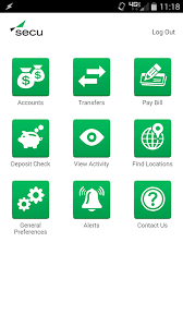 state employees credit union app for android freapp secu mobile smartphone features securely manage your