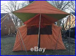 Sears Tent And Awning Yakima Tag Wall Small Camping Tents