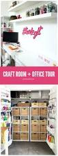 craft room and home office tour tauni co