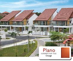 Flat Concrete Roof Tile Monier Plano