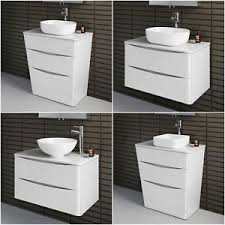 countertop bathroom sink units bathroom vanity unit countertop sink basin storage wall furniture