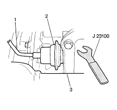 repair instructions vacuum modulator valve assembly removal