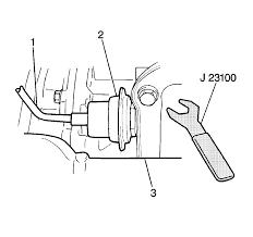 repair instructions vacuum modulator valve assembly removal