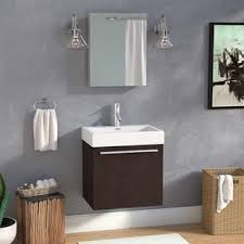 Bathroom Cabinet Modern Modern Contemporary Bathroom Vanities You Ll Wayfair