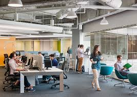 open floor plan office space open office experiment that actually worked