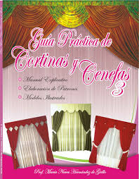 cenefas de tela para cortinas libros de costura costura b磧sica para principiantes