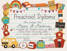 kindergarten certificates designs free printable pre kindergarten graduation certificates