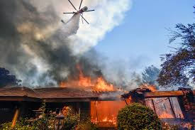 Wildfire Chicago Open Table by Fierce Winds Stir Deadly California Wildfires