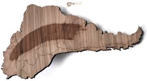 Magnetic Map Of Usa by Mapawall Com Exclusive Wooden World Wall Maps