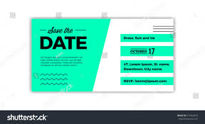 save date design voucher template weddings stock vector 613054472
