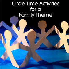 ideas for incorporating a family theme into circle time