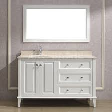 Definition Of Vanity Lily 55 White Bathroom Vanity