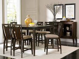 Black Dining Room Table And Chairs by Best Bar Height Dining Table Sets Home Design By John