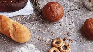Wooden Table Png Different Types Of Bread On Wooden Table Dusted With Flour Slow