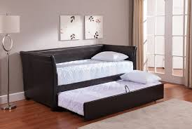 Upholstered Daybed With Trundle Bedroom Impressive Devyn Tufted Upholstered Daybed With Trundle
