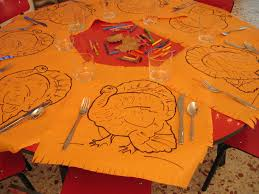 turkey placemats thanksgiving placemat ideas